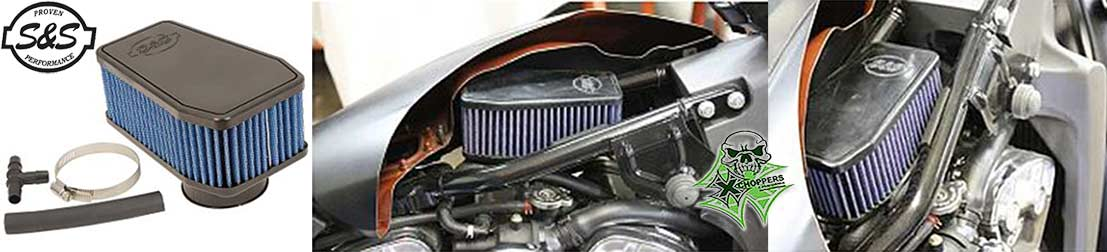 S&S Stealth Air Cleaner For Victory Octane / Indian Scout