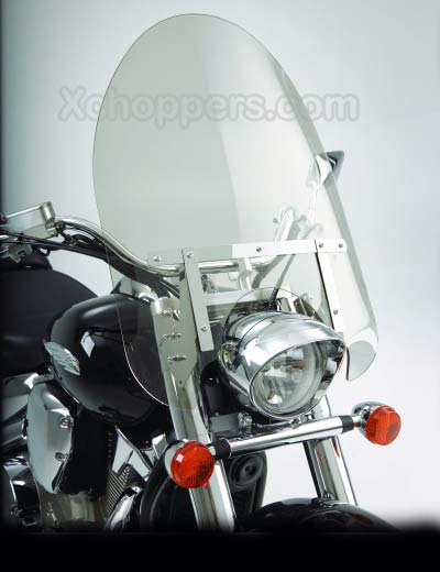 "Big Bike Parts - 22"" CLASSIC WINDSHIELD - CLEAR - VTX 1300 C"
