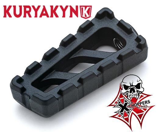 Kuryakyn Riot Shift & Brake Peg, Satin Black - Indian Scout