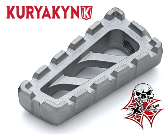 Kuryakyn Riot Shift & Brake Peg, Satin Silver - Indian Scout