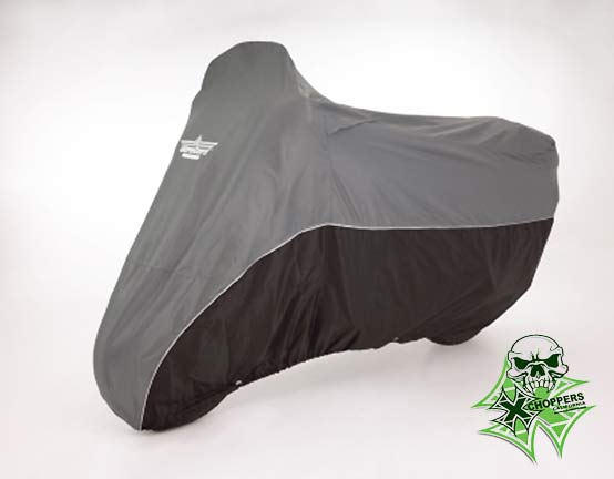 Big Bike Parts Full Dresser Cover - Charcoal / Black