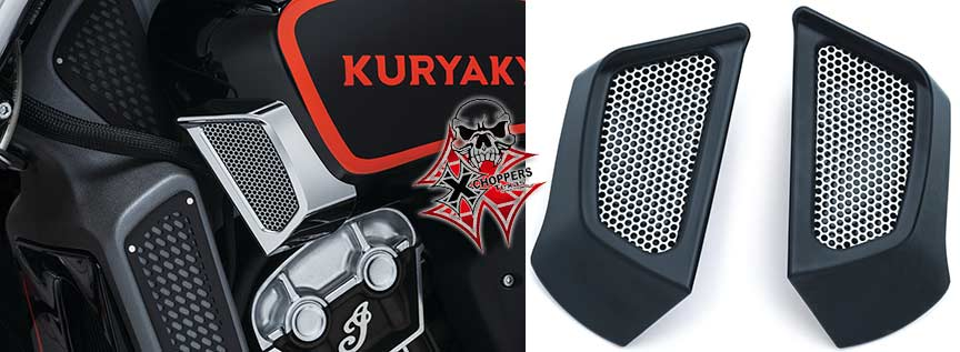 Kuryakyn Side Scoops for Indian Scout - Black