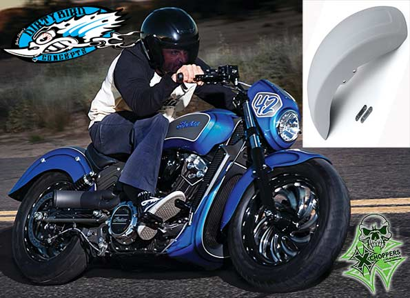 Dirty Bird Sprint Front Fender - Indian Scout Scout60