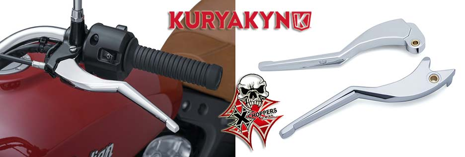 Kuryakyn Legacy Levers for '15-'16 Indian Scout, Chrome