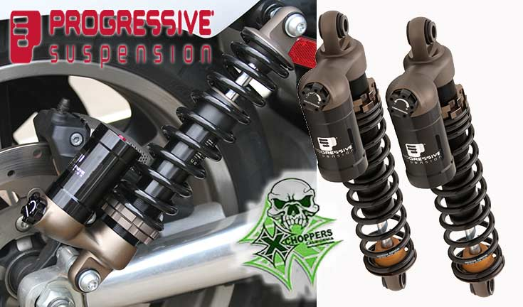 Progressive Susp. 970 Series Piggyback Reservoir Shocks - Scout