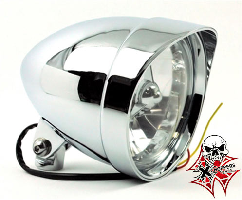 Accessories HD 5 3/4 CLASSIC COBRA W VISOR CHROME