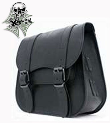 Ledrie Single sided saddlebag - Black