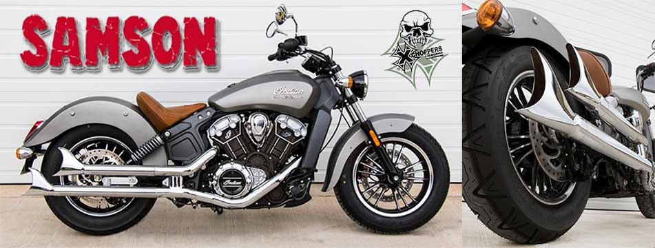 Samson Staggered Longtails for Indian Scout