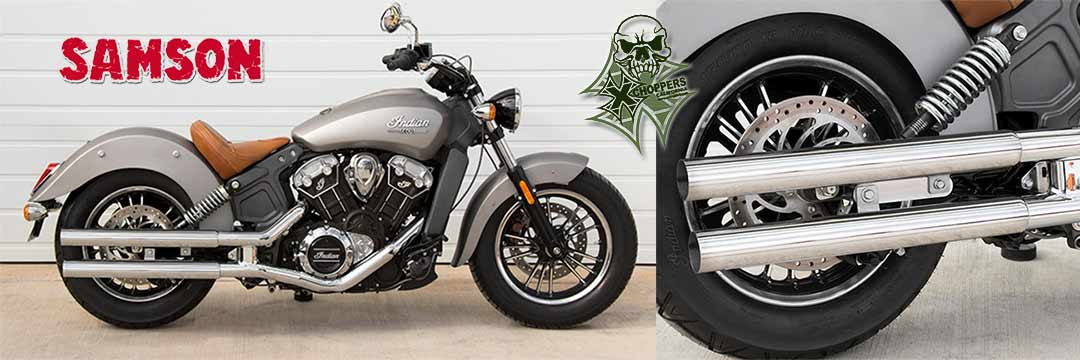 Samson Cannons for Indian Scout