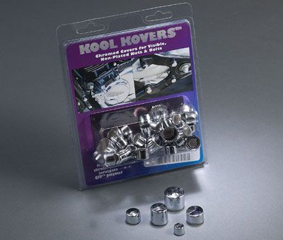Kool Kovers Chrome Nut and Bolt Head Cover Kit - VTX 1300 R/S