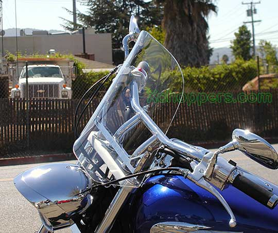 """Honda Fury For Sale >> Xchoppers.com - Windvest - 18"""" tall x 16"""" wide - Clear ..."""